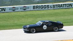 Rusty Wallace Races Vintage Trans-Am Mustang - NASCAR Pro Takes ...