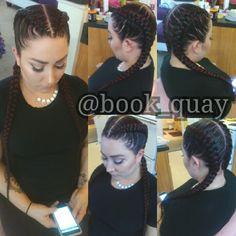 #Cornrows #GhanaBraids #BraidedHairDesigns #Fashion #Braids #Pittsburgh #Diverse #Stylist #Girls #MUA #BlackWoman #WhiteWoman #FuckItUp #LoveIt #Fleek #BookQuay #QuayzyStyles