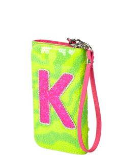 Zebra Glitter Initial Wallet | Fashion Bags | Bags & Totes | Shop Justice Shop Justice, Fashion Bags, Back To School, Totes, Initials, Neutral, Coin Purse, Girl Outfits, Glitter