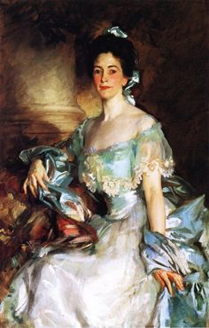 John Singer Sargent Mrs. Abbott Lawrence Rotch - Handmade Oil Painting Reproduction on Canvas