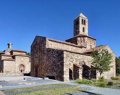 Esglésies de Sant Pere de Terrassa. Catalunya. Welcome to Catalonia. Polos BATECH®'s Country!