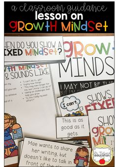 A classroom guidance lesson on Growth Mindset