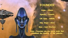 THE STAR RACES - FOUNDER