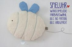 Spieluhr Teddyplüsch Wunschmelodie Hummel