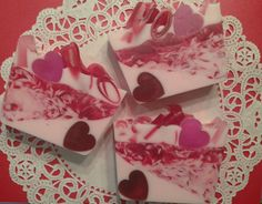 Valentines Day Soap Bar by LusciouslyLathered on Etsy, $5.00