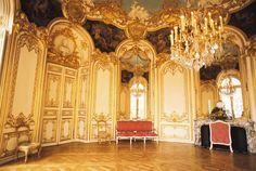 Germain Boffrand. Salon de la Princesse, Hotel de Soubise. Paris #architecture #paris