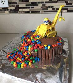 Paw Patrol Cake - MisMashedMom - Ideas for a Kids Birthday Party - Cake Boys Birthday Cakes Easy, 3 Year Old Birthday Cake, Toddler Boy Birthday, Cakes For Boys, 3rd Birthday, Birthday Video, Paw Patrol Cake, Paw Patrol Birthday Cake, Cake 5 Year Old Boy