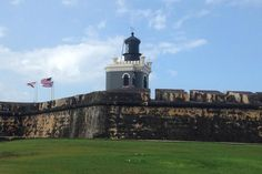 Officially known as Castillo San Felipe del Morro Lighthouse is not only the longest official name on this list, but it's the first lighthouse ever built in Puerto Rico. This local has seen its fair share of gunplay, having taken some hits in the Spanish-American War. The lighthouse was rebuilt in 1899, but had to be torn down in 1906 because of structural problems. The tower that stands today has been there since 1908.