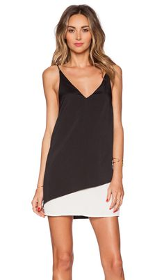 State of Being Suspended Dress in Black & White | REVOLVE