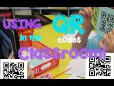 USING QR CODES IN THE CLASSROOM! - YouTube