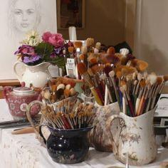 60 Most Popular Art Studio Organization Ideas and Decor - Ideaboz