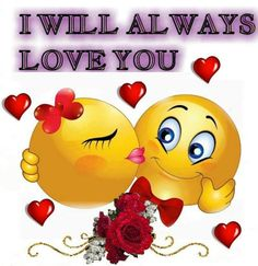 Always and forever baby. I Love You Images, Love You Gif, I Love You Baby, Funny Emoji Faces, Funny Emoticons, Smileys, Smiley Faces, Love Smiley, Emoji Love