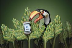 Hate ATT but LOVE Guido Daniele's art. Fab! Also never did see these ads anywhere. Did you?