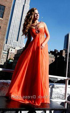 Cheap Sale Sherri Hill 1455 Coral Jeweled Straps Long Prom Dress [Sherri Hill 1455 Coral] - $185.00 : 2016 Sherri Hill Prom Dresses Cheap Sale online.Big Discount Price Sherri Hill