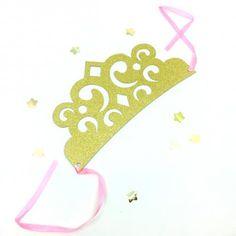 Partyhut Tiara Prinzessinnenkronen, 4 Stück_1 Party Mottos, Adidas Logo, Ballerina, Pink, Little Princess, Kid Birthdays, Cupcake Liners, Fairies, Ballet Flat