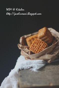 果仁月饼 Mixed nuts mooncake