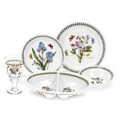 Portmeirion Botanical Garden 17 Piece Dinnerware Set - 607714I
