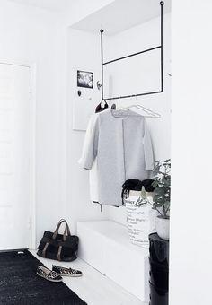Bestå ikea som skoställ snygg takhängd klädhängare