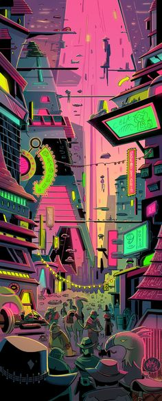 Hykosis City by mikemaihack.deviantart.com on @deviantART