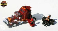 Brickwork: 'M.A.S.K.' Returns As a Fan-Made LEGO Set
