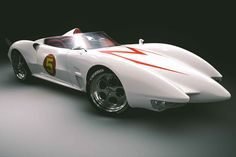 Speed Racers Mach 5   It is the greatest car ever - even beyond the Black Beauty, The Batmobile, and it even... dare I say it... Kit.