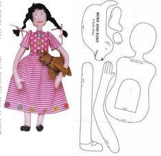 Patterns dolls