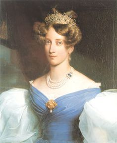 Grand Duchess Sophie of Baden by  Franz Xaver Winterhalter (1830)