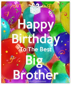 Birthday Images for Brother : Happy Birthday Wishes for Brother - Latest Collection of Happy Birthday Wishes Happy Birthday Brother Wishes, Birthday Wishes For Brother, Happy Birthday Fun, Cake Birthday, Birthday Shots, Funny Birthday, Latest Happy Birthday Images, Happy Birthday Pictures, Best Birthday Quotes