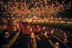 Chang mai - Sky lanterns