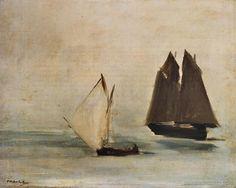 Édouard Manet. A Seascape. 1869