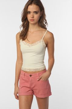 Pins and Needles Seamless Lace Cami - Google Search