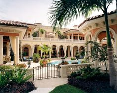 Luxury homes exterior - Wonderful Mediterranean Home Designs Youre Going To Fall In Love With Part 2 Fresh Home Ideas Luxury Homes Exterior, Design Exterior, Mediterranean Architecture, Mediterranean Home Decor, Mediterranean House Exterior, Mediterranean People, Home Design, Mansion Homes, Mansion Interior