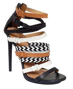 L.A.M.B. Jessie Sandals $289.99 These are fantastic! Now cheaper, with a lower heel for everyday wear, and I'd buy em this instant!