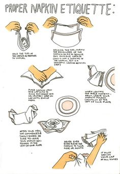 The Proper Way to Set a Table - Will you know how to set the table for your wedding feast? Dinning Etiquette, Table Setting Etiquette, Table Settings, Good Manners, Table Manners, Cena Formal, Etiquette And Manners, Vintage Modern, Little Bit