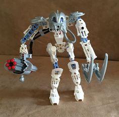 8915 Lego complete  Bionicle ToaMahri Toa Matoro white gun mahri toa #LEGO