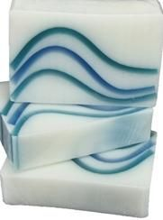 Glycerin Soap  A unisex spa like fragrance. Ozone, seaspray, orange and rose. Reminds you of a tropical breeze. Made with shea butter. Awesome! A top seller.