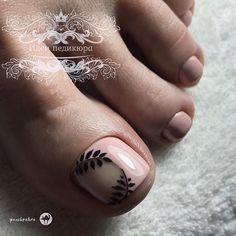 Pedicure Designs, Pedicure Nail Art, Toe Nail Designs, Toe Nail Art, Easy Nail Art, Purple And Pink Nails, Romantic Nails, Cute Toe Nails, Pin On