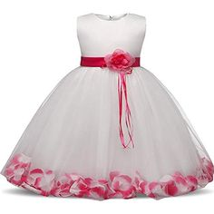 Flower Children's Dresses Girls Kids Clothes For Wedding 8 10 Years Birthday Dress Little Girl Evening Party Dress Baby Costume Baby In Wedding Dress, Baby Girl Birthday Dress, First Birthday Dresses, Girls Party Dress, Toddler Girl Dresses, Dresses For Teens, Bridal Dresses, Girls Dresses, Dress Party