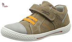 Superfit Lumis, Sneakers Basses Garçon - Gris (Stone Multi 07), 35 EU