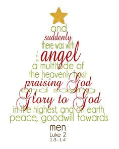 Christmas Scripture Word Tree Printable