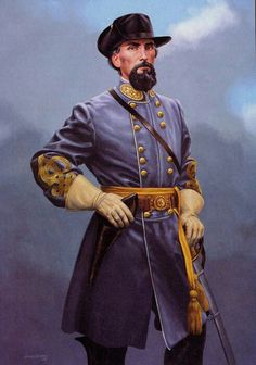*NATHAN BEDFORD FORREST~Major General fromTennessee.JULY13,1821–OCTOBER 29,1877.A most polarizing figure of the Civil War era,born:July13,1821inChapel Hill TN.Forrest moved to the MemphisDelta+ eventually became a successful businessman +millionaire,dealing in cotton,land+slaves. BATTLES:Fort Donelson,Parker'sCross Roads,Brice's CrossRoads,Tupelo,Spring Hill,Franklin.At the outbreak of theCivil War,Forrest volunteered as a private before deciding to raise+equip an entire unit at his own…