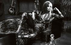 awesome Vogue UK Março 2014 | Daria Werbowy por Mert Alas & Marcus Piggott  [Editorial]