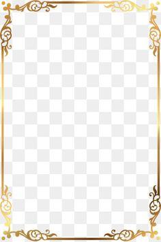 Page Borders Design, Border Design, Borders For Paper, Borders And Frames, Border Pattern, Gold Pattern, Frame Floral, Wedding Borders, Certificate Design Template