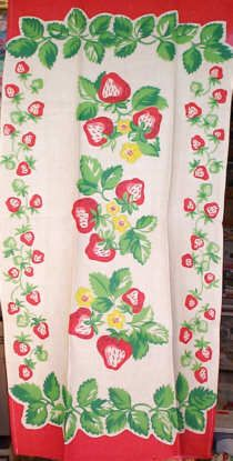 "Here's that same towel seen on ""I Love Lucy"", in mint condition.   $24 from rickrack.com"