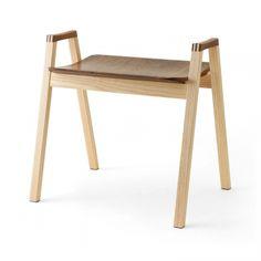 椅子工房・之/スタッキングスツール ウォルナット・アッシュ