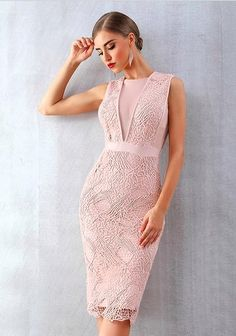ADYCE Summer Women Bandage Dress Vestidos Verano 2019 New Tank Sexy Lace Mesh Sleeveless Bodycon Clubwears Celebrity Party Dress Bodycon Dress Parties, Party Dress, Bandage Dresses, Peplum Dresses, Sheath Dresses, Dress Lace, Pink Dress, Tattoo Dentelle, Rose Fushia
