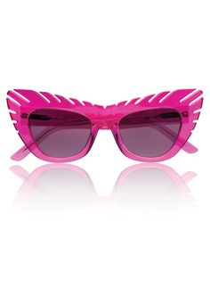 1974e8a8f1b Mr. Quiffy On A Promise Pink – House of Holland Pink Sunglasses