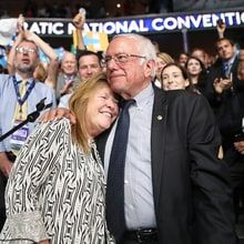 Bernie Sanders' wife, Jane, discusses her proudest and most difficult campaign moments, the DNC email leak and the future of his revolution.