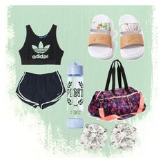 """""""by @ettadance56 dance wear"""" by ettadance56 ❤ liked on Polyvore featuring NIKE, adidas and Old Navy"""