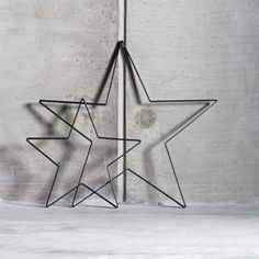 Simple Extra Large Black Iron Star by Tine K Home at Design Vintage. Stunning either wall hung or floor standing. Christmas Star, Vintage Christmas, Industrial Furniture, Vintage Furniture, Homewares Online, Star Designs, Home Accessories, Scandinavian, Iron